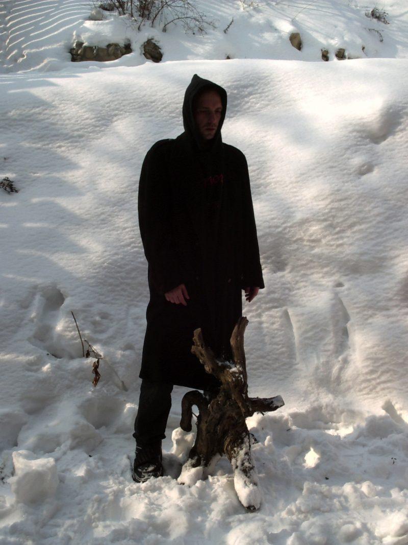 Attila Csihar original photo shoot for SUNN O))) White 2