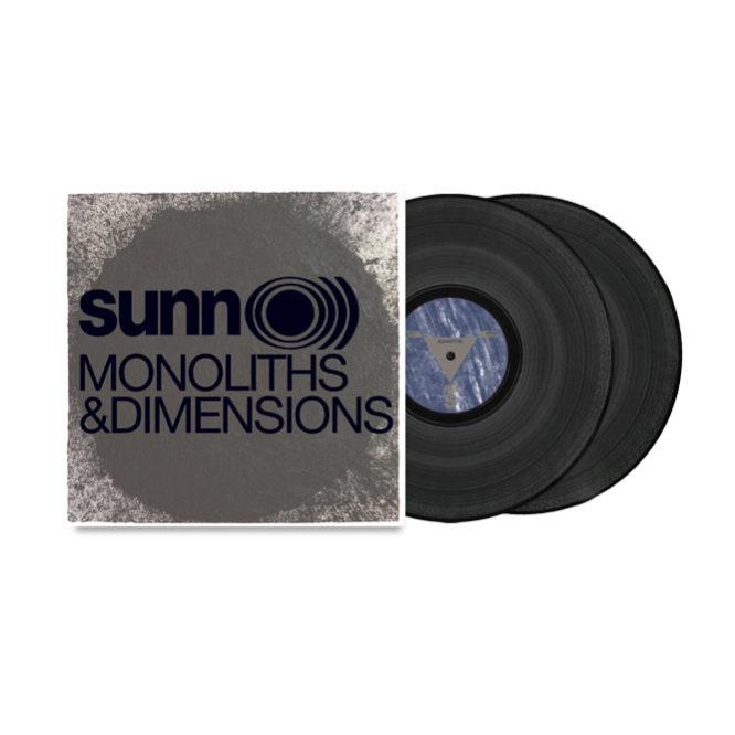 Monoliths & Dimensions gatefold 2xLP (Black Vinyl)
