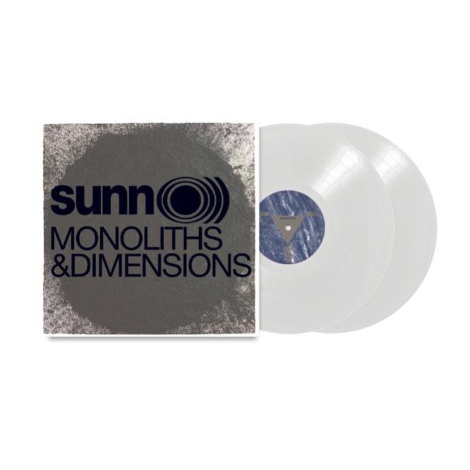 Monoliths & Dimensions gatefold 2xLP (White Vinyl)