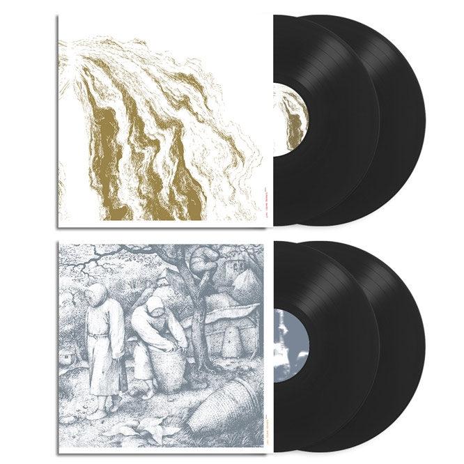 Sunn O)))- White1 & White 2 (2018 Remastered Editions) 2xLP Black Vinyl Bundle