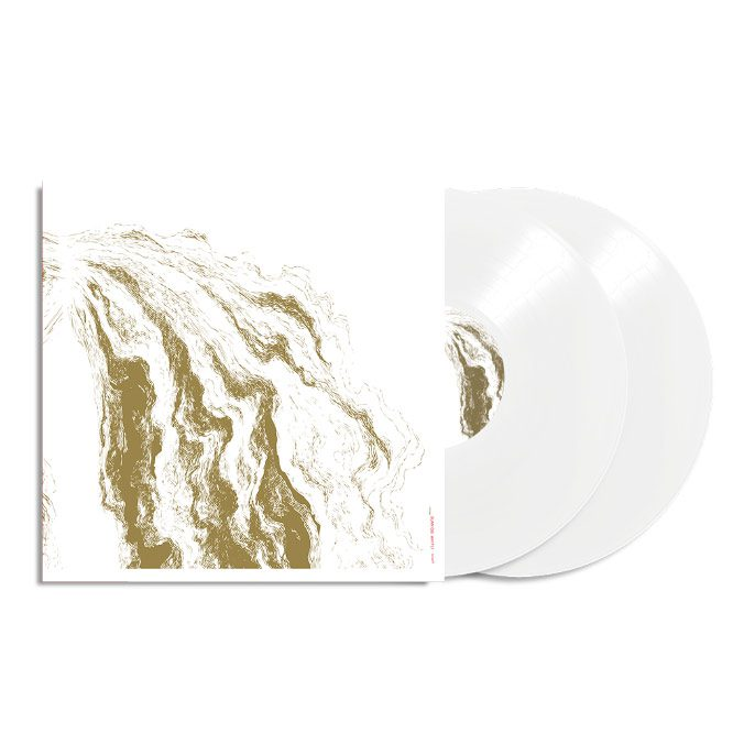 sunn O)))- White1 (2018 remastered edition) 180 gram 2xLP White Vinyl (includes 24X36 black/white sunn O))) poster)