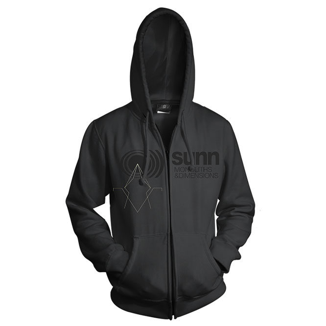Monoliths & Dimensions Zip UP Hoodie front