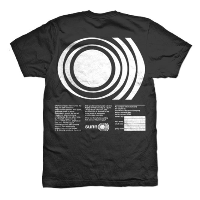 O))) ever breathe a frequency? / MILO Tshirt