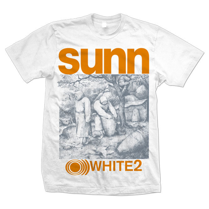 SUNN WHITE 2 t-shirt (VINTAGE STYLE SHIRT)